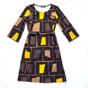 Nine West Textured Block Dress